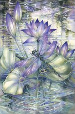 Wall Stickers  Amethyst Sunrise - Jody Bergsma