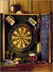Wall sticker  Darts board - Simon Kayne