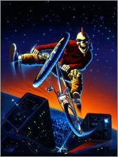 Gallery print  BMX - Extreme Zombies