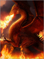 Wall Stickers  Lord of the Dragons - Phil Straub