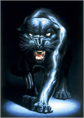 Wall sticker  Black Panther - Adrian Rigby