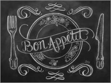 Wall sticker  Bon Appetit - Lily & Val