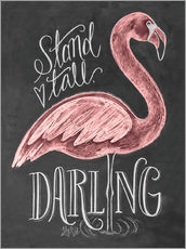 Wall sticker  Stand tall, darling - Lily & Val