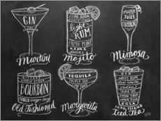 Gallery print  Cocktail Recipes - Lily & Val