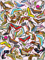 Wall sticker  Shoe Crazy - Lewis T. Johnson