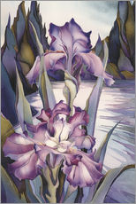 Gallery Print  Lady of the lake - Jody Bergsma