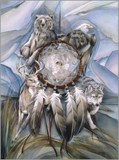 Wall sticker  Dream catcher - Jody Bergsma