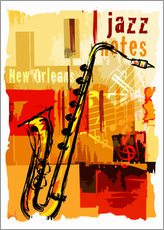 Wall sticker  Jazz notes - colosseum