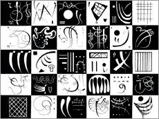Wall sticker  Thirty - Wassily Kandinsky