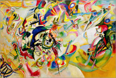 Gallery print  Composition VII - Wassily Kandinsky