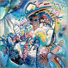 Gallery print  Red square - Wassily Kandinsky
