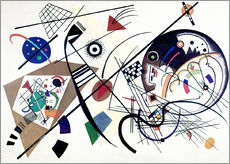 Gallery print  Continuous line - Wassily Kandinsky