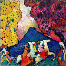 Gallery print  Blue Mountain - Wassily Kandinsky