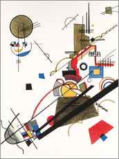 Wall sticker  Happy ascent - Wassily Kandinsky