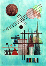 Wall sticker  Across and Up - Wassily Kandinsky