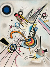 Wall sticker  Diagonal - Wassily Kandinsky