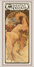 Wall sticker  Chocolat Mexicain, Autumn - Alfons Mucha