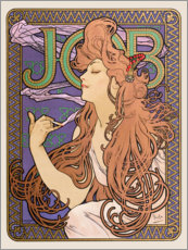 Wall sticker  Job, Brunette - Alfons Mucha