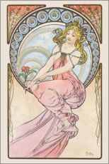 Wall sticker  The Arts - Painting - Alfons Mucha
