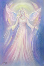 Gallery print  Light and Love - angel painting - Marita Zacharias