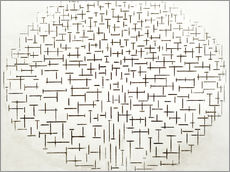 Gallery print  Composition in Black and White - Piet Mondriaan