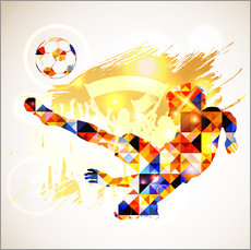 Gallery print  Soccer concept - TAlex