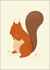 Wall sticker  Squirrel - Sandy Lohß