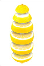 Wall sticker  Lemon - pixelliebe