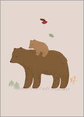 Wall Stickers  bear - Sandy Lohß