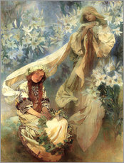 Gallery print  Lily Madonna - Alfons Mucha