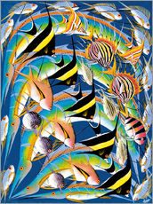 Wall sticker  Fish World Africa - Zuberi