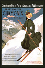 Wall sticker  Sports D'Hiver Chamonix (French) - Travel Collection