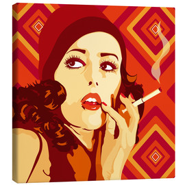 Canvas print  Your 20s to 60s Girl - JASMIN!