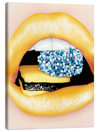 Canvas print  lips - Sergio Laskin