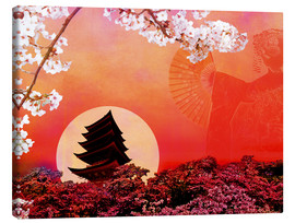 Canvas print  Rising Sun - Javier Velasco