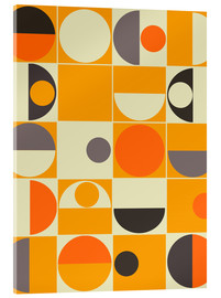 Acrylic print  Panton orange - Mandy Reinmuth