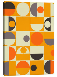 Canvas print  Panton orange - Mandy Reinmuth