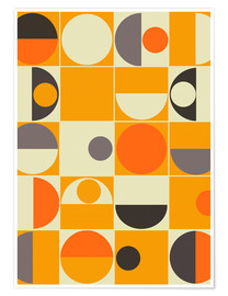 Premium poster  Panton orange - Mandy Reinmuth