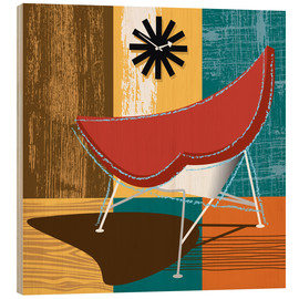Wood print  coconut chair - Thomas Marutschke