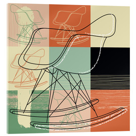 Acrylic print  rocking chair - Thomas Marutschke