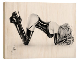 Wood print  Fetish - Paul John Ballard
