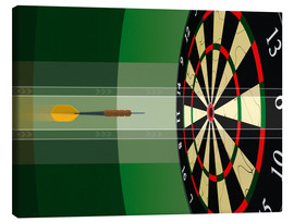Canvas print  dart - Chad Baker