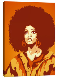 Canvas  70s Orange Soul Mama - JASMIN!