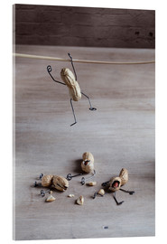 Acrylic print  Simple Things - Balancing - Nailia Schwarz