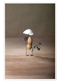 Premium poster  Simple Things - Taking a Walk - Nailia Schwarz