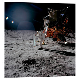 Acrylic print  Apollo 11 Moon Walk - Stocktrek Images