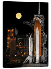 Canvas print  Space shuttle Discovery - Stocktrek Images