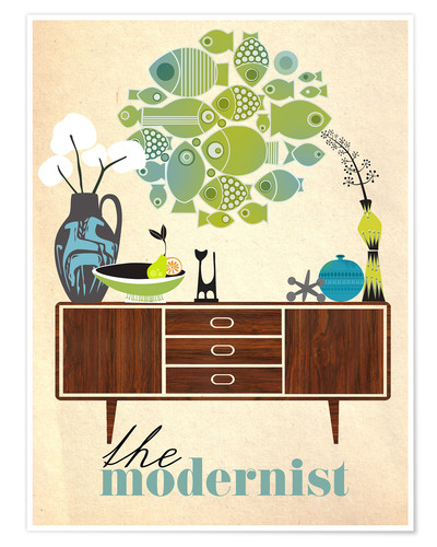 Premium poster The modernist