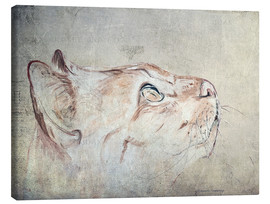 Canvas print  Cats Moments 3 - Annett Tropschug