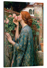 Aluminium print  The Soul of the Rose - John William Waterhouse